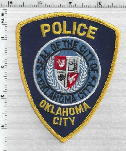 Oklahoma City Police (Oklahoma) 3rd Issue Shoulder Patch