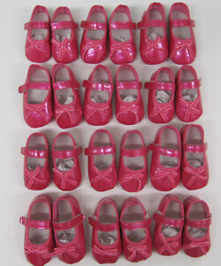 Baby girls pink patent shoes first size  job lot  12 pairs  pram shoes wholesale