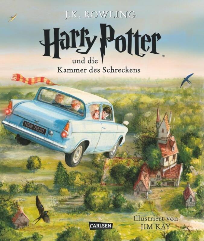 Harry Potter 2 und die Kammer des Schreckens. Schmuckausgabe | Joanne K. Rowling