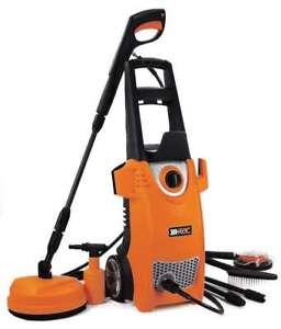 HEAVY DUTY RAC 2000W 150 BAR PRESSURE WASHER JET WASH CAR & HOME PATIO CLEANER