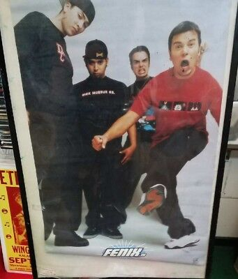 FENIX TX POSTER NEW  2000 RARE VINTAGE COLLECTIBLE OOP