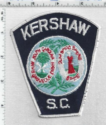 Kershaw Police (South Carolina) 1st Issue Shoulder Patch