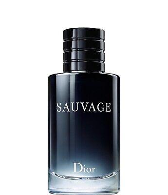 Dior SAUVAGE by Christian Dior 3.4 oz EDT Men's Spray TST New