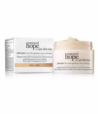 Philosophy Hope In A Jar (Philosophy Renewed Hope In A Jar Skin Tint Your Choice of Shade New See Descript )