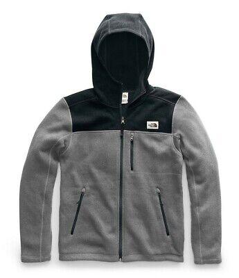 NWT The North Face Men's Gordon Lyons Full Zip Hoodie Grey Black XXL 2XL