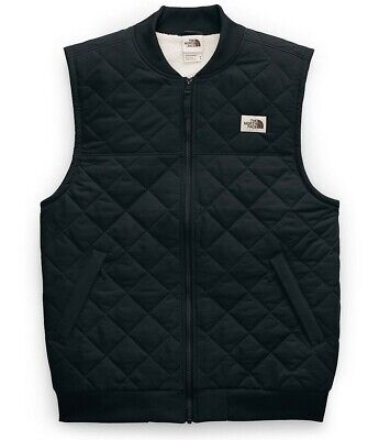 NWT The North Face CUCHILLO Insulated Vest 2.0 Black Quilted Sherpa XXL 2XL