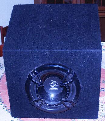 SUBWOOFER 500 watt – car audio : GROUND ZERO - GZTB 200E - bassi potenti ! comprar usado  Enviando para Brazil
