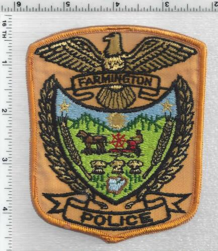 Farmington Police (Minnesota) 2nd Issue Shoulder Patch