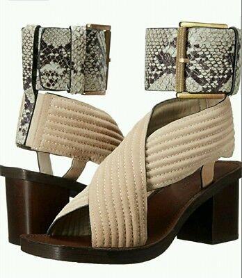 Calvin Klein Jeans Womens Natasha Boho Gladiator Criss Cross Sandals 7.5 NIB Gladiator Sandals Jeans