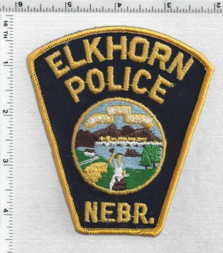 Elkhorn Police (Nebraska) 2nd Issue Shoulder Patch