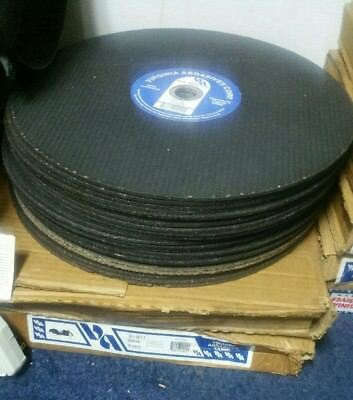Concrete Masonry Saw Blades Lot Of 144 Blades Virginia Abrasive Brick Block Tile