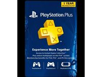 12 Months PSN (PlayStation plus)