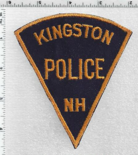Kingston Police (New Hampshire) 1st Issue Uniform Take-Off Shoulder Patch