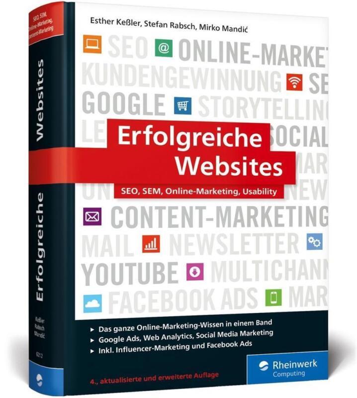 Erfolgreiche Websites   Stefan Rabsch, Mirko Mandic, Esther Keßler   2018   NEU