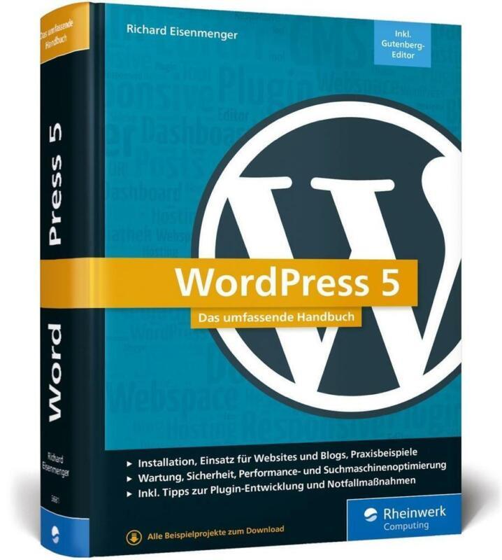 WordPress 5 | Richard Eisenmenger | 2019 | deutsch | NEU