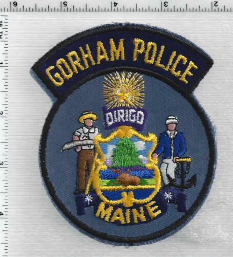 Gorham Police (Maine) 2nd Issue Shoulder Patch