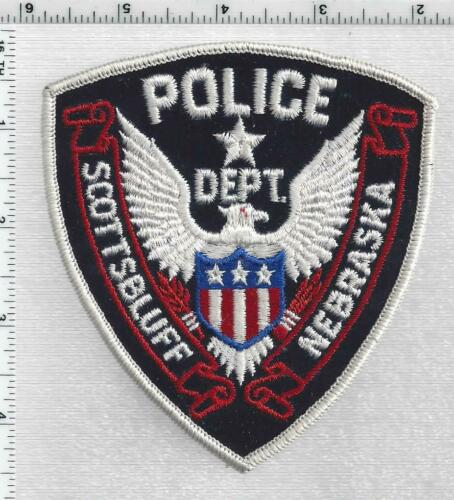 Scotts Bluff Police (Nebraska) 1st Issue Shoulder Patch