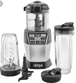 New NinjaUltimate Chopper, Blender & Mini Food Processor with Auto iQ 1200W – NN100UK
