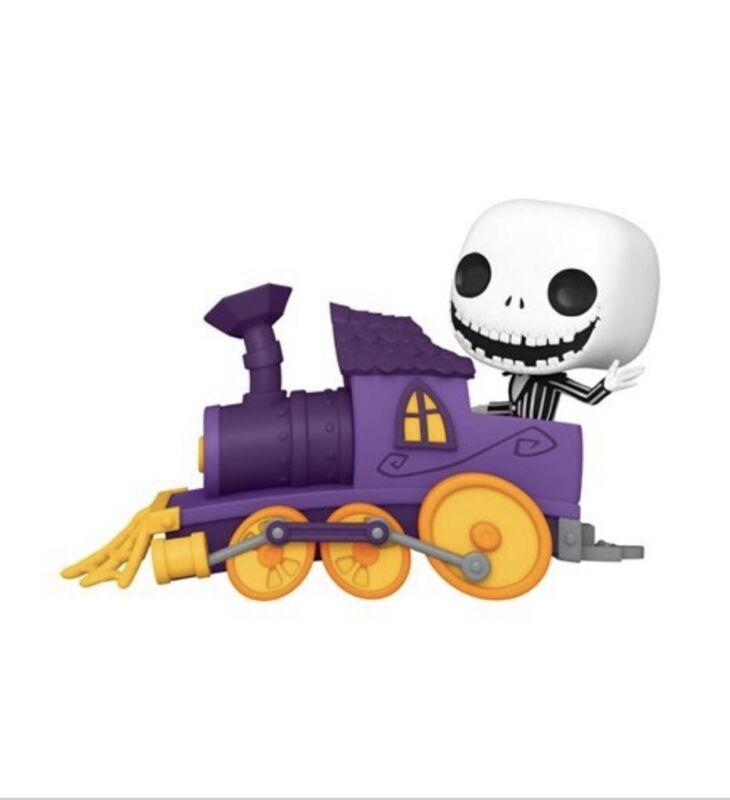 Nightmare Before Christmas Jack in Train Engine Pop! Train Pre-order