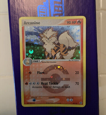 Arcanine 18/112 EX Fire Red Leaf Green NM+ Reverse Rare