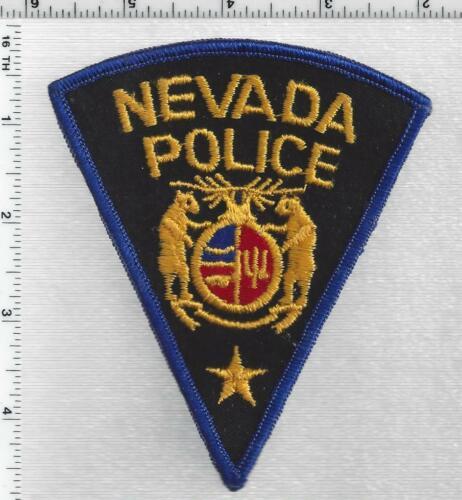 Nevada Police (Missouri) 1st Issue Shoulder Patch