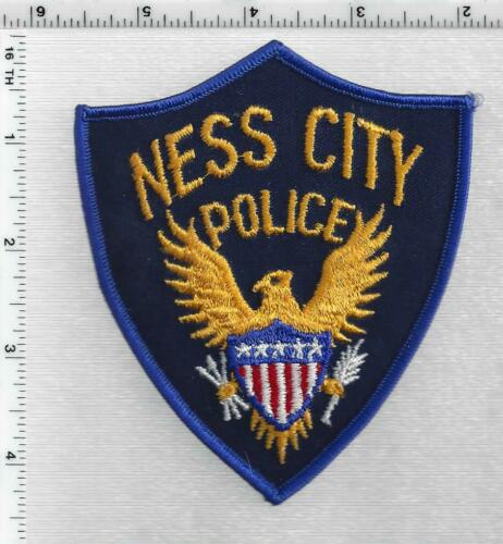 Ness City Police (Kansas) 1st Issue Shoulder Patch