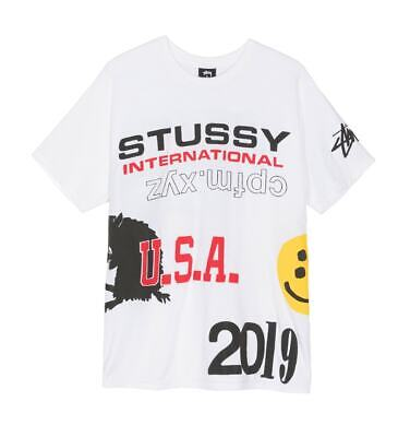 RARE! SOLD OUT Stussy x Cactus Plant Flea Market CPFM Size XL T-Shirt July 4th