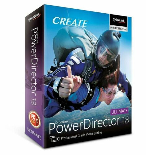 PowerDirector 18 Ultimate 🔥 Lifetime Activated 🔑 Full Version ✅ Fast Delivery