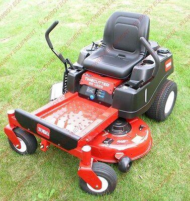 Lawn Garden Mower Seat - Black For Toro Time Cutter Machines Zero Turn Lgt100bl