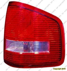 Tail Light Passenger Side Sport Track 07-10 High Quality Ford Explorer 2007-2010