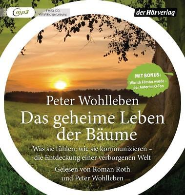 BESTSELLER Wohlleben Das geheime Leben der Bäume MP3 HörBuch NEU Was sie fühlen  (Sie Mp3)