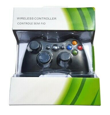 Xbox 360 Controller, Wireless Gamepad Controller - Black