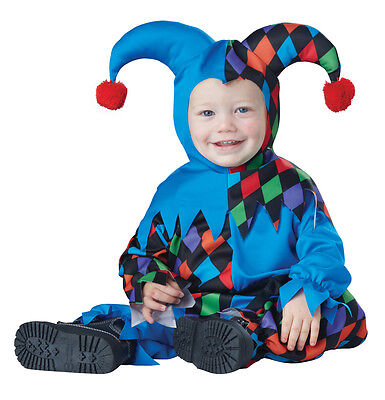 Lil Jester Joker Clown Infant Baby Costume (Baby Jester Costume)