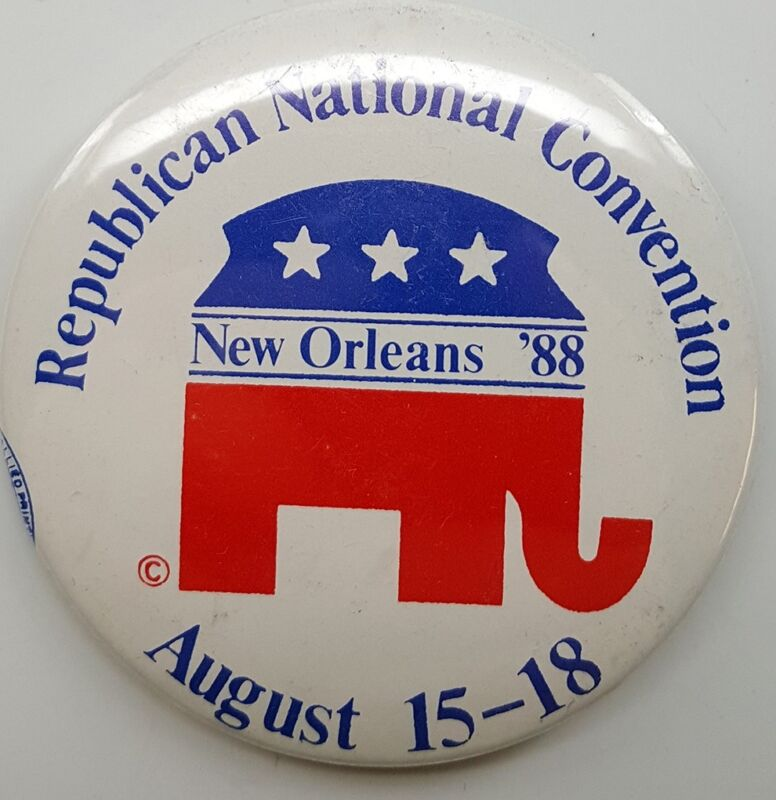 1988 Republican National Convention Campaign Button