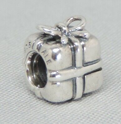 Authentic Pandora Present Gift Charm/Bead Silver 925 ALE 790300