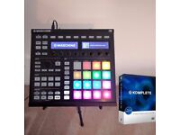 Native Instruments Maschine MK2 + software bundle. Full Komplete 10, 8 expansions, stand & decksaver