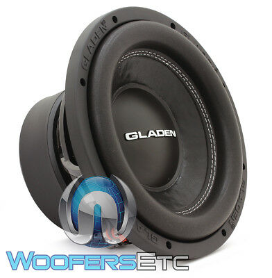 """GLADEN SQX10 SUB 10"""" 350W RMS 4-OHM CAR SUBWOOFER SOUND QUALITY BASS SPEAKER NEW for sale  Los Angeles"""