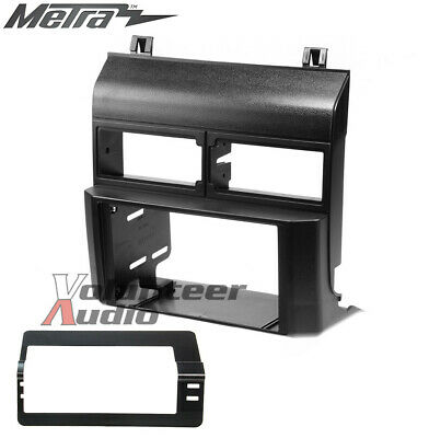 Metra 95-3000 Double Din Dash Kit For Stereo Radio Install Installation Black