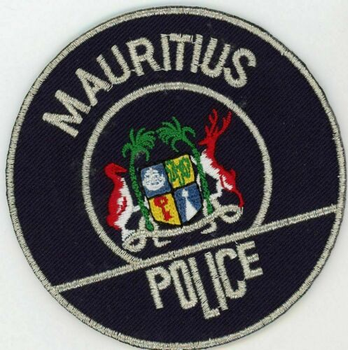 Mauritius Police patch Police Patch
