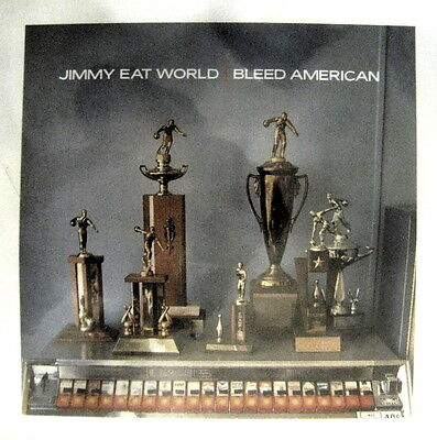 "Jimmy Eat World ""Bleed American"" NEW promo poster New Jersey Punk EMO"