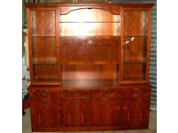 Large Wall Unit Sideboard Cabinet Display Unit