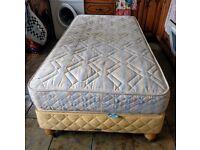 Slumberland single bed and Odearest mattress