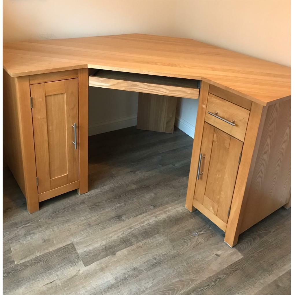 brand new 00a23 715fa Solid Oak corner desk | in Kesgrave, Suffolk | Gumtree