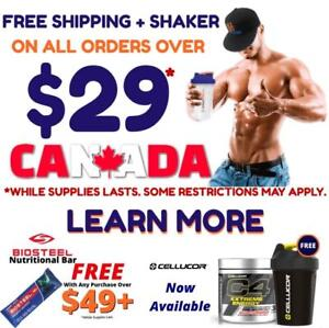 Free Shipping + Shaker On Orders Over $29+