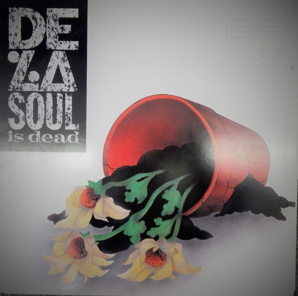 De La SoulDe La Soul Is DeadOriginal US pressing 1991Scarcein Hackney, LondonGumtree - RARE ORIG US PRESSING IN VERY CLEAN CONDITION. Sleeve very nice, still in the shrinkwrap. Vinyl also excellent condition. Includes inner sleeve. Getting hard to find this original US edition! Other records also available; list on request. Available...