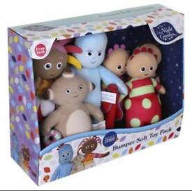 In the night garden soft toy bumper pack
