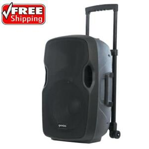 "Gemini AS-12TOGO 12"" Active Portable Bluetooth Loudspeaker with Rechargeable Battery"