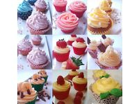 Cupcakes home made and baked fresh