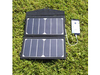 SOLAR PANEL BAG to CHARGE your PHONE/LAPTOP BATTERY 12W while out for the day