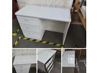 Matching desk and draw set